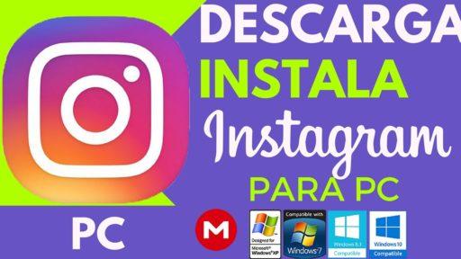 descargar instagram pc