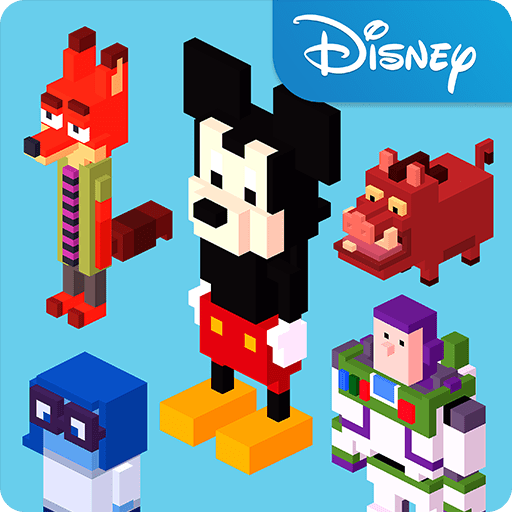 disney crossy road online pc mac windows 7 8 10 free download